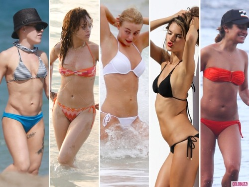 Tell us which celeb has your favorite bikini body, and you could win a $1,000 gift certificate to Charlie by Matthew Zink! Enter here!