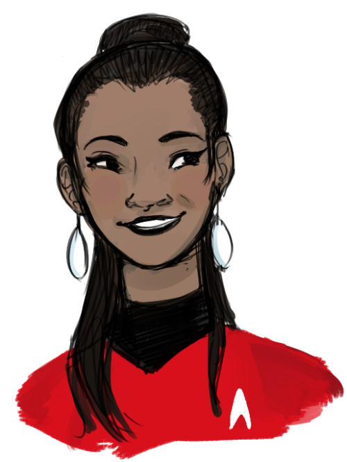 shrillingchicken:  gettin' back into the star treks  ♪(*ノ・ω・)ノ♫