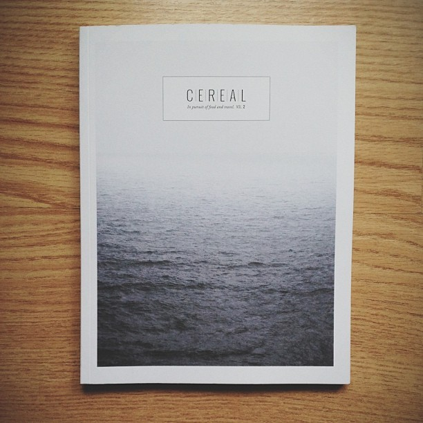 Enjoying Cereal Magazine. @cerealmag