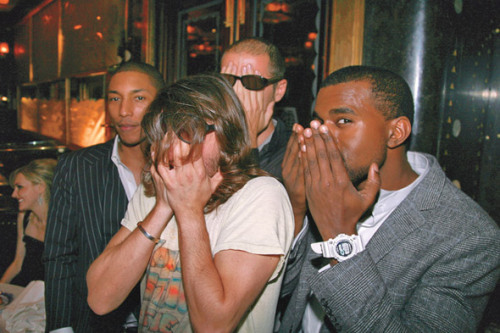 whoizrmell:  Kanye, Pharrell and Daft Punk