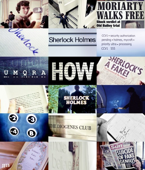 Sherlock - Letters and Numbers