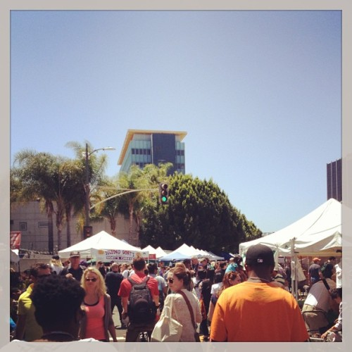#hollywood #farmers #market #sunday #losangeles #ivar (at Hollywood Farmer's Market)