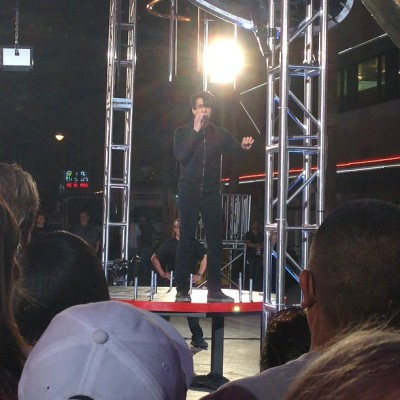 Watched Criss Angel perform an Illusion on #freemont #lasvegas tonight. #magic #illusion #crissangel