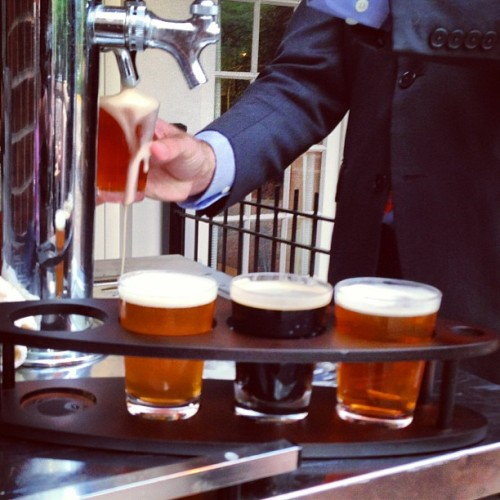 Missing the craft beer dinner? You can still enjoy $7 craft beer flights in Ariccia all night!  (at Ariccia Italian Trattoria)