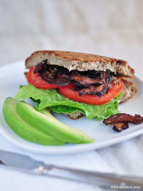 Shiitake Bacon BLT
