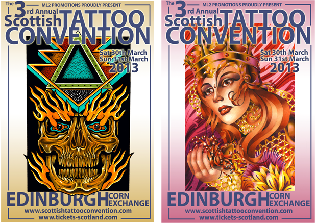 The 3rd Annual Scottish Tattoo Convention is HERE! http://www.culturebomb.net/2013/02/28/3rd-annual-scottish-tattoo-convention-march-30-31/