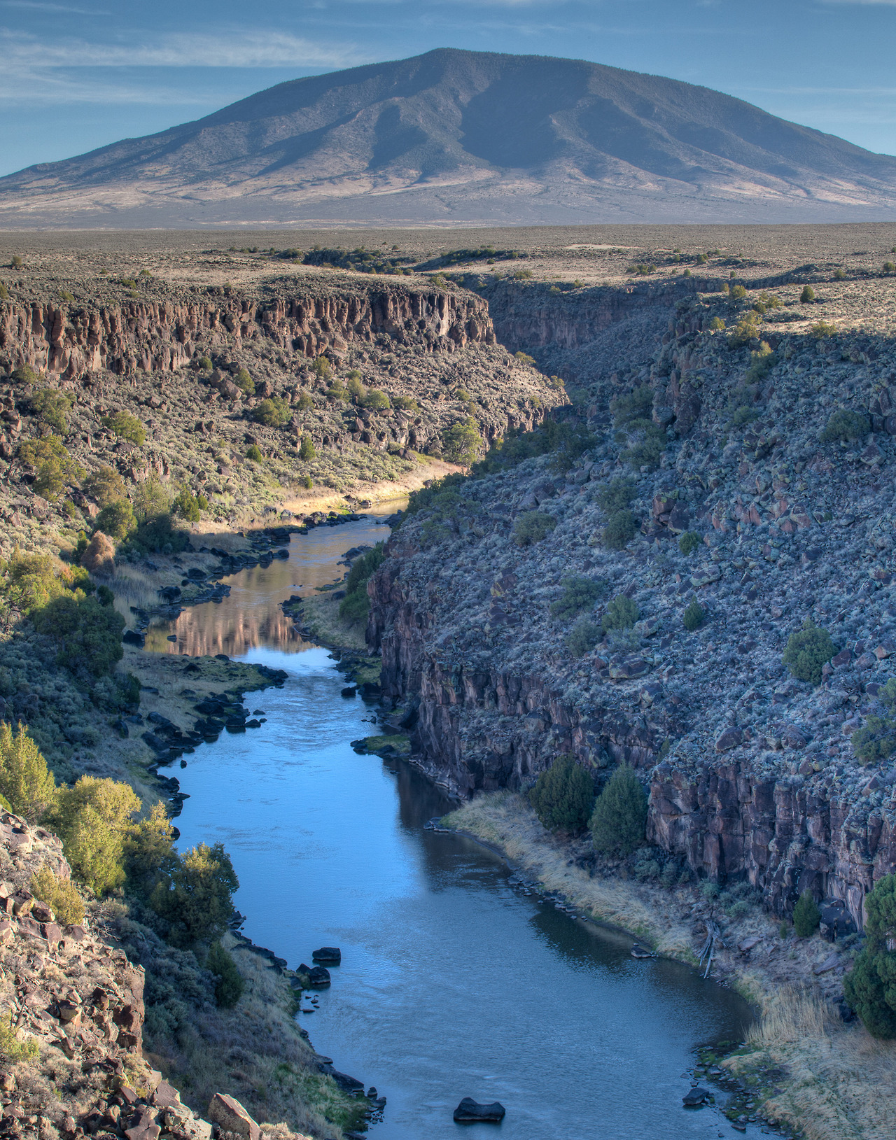 Image description: Top photo: the Rio Grande del Norte National Monument in New Mexico. Bottom photo: San Juan Islands National Monument in Washington On Monday, President Obama established five new national monuments across the country. The monuments protect natural resources and preserve rich history and lush landscapes in five different states: Delaware, Maryland, New Mexico, Ohio and Washington. From the White House:  The monuments are: Charles Young Buffalo Soldiers National Monument in Ohio: The monument will preserve the home of Col. Charles Young (1864–1922), a distinguished officer in the United States Army who was the third African American to graduate from West Point and the first to achieve the rank of Colonel. First State National Monument in Delaware: The monument will tell the story of the early Dutch, Swedish, Finnish and English settlement of the colony of Delaware, as well as Delaware's role as the first state to ratify the Constitution. The park is comprised of three historic areas related to Delaware's rich history: the Dover Green, the New Castle Court House complex (including the courthouse, Green and Sheriff's House), and the Woodlawn property in the Brandywine Valley. Harriet Tubman Underground Railroad National Monument in Maryland: The monument commemorates the life of the most famous conductor on the Underground Railroad who was responsible for helping enslaved people escape from bondage to freedom. The new national park, located on Maryland's Eastern Shore, includes large sections of landscapes that are significant to Tubman's early life in Dorchester County and evocative of her life as a slave and conductor of the Underground Railroad.  Río Grande del Norte National Monument in New Mexico: Located northwest of Taos, the Río Grande del Norte contains stretches of the Río Grande Gorge and extinct volcanoes that rise from the Taos Plateau. The area is known for its spectacular landscapes and recreational opportunities – like rafting, fishing and hiking – and serves as important habitat for many birds and wildlife. San Juan Islands National Monument in Washington: Home to bald eagles, orca whales, harbor seals and other rare species, the San Juan Islands is a chain of 450 islands, rocks and pinnacles. Located in Washington State's Puget Sound, the archipelago provides an opportunity for visitors, campers, kayakers and birdwatchers to experience the natural beauty of the undeveloped, rugged landscape.  Learn more about the five new national monuments. View more pictures of Rio Grande del Norte and San Juan Islands national monuments. Photos from the Bureau of Land Management.