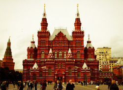 Big Red - Moscow, Russia | by Past Our Means