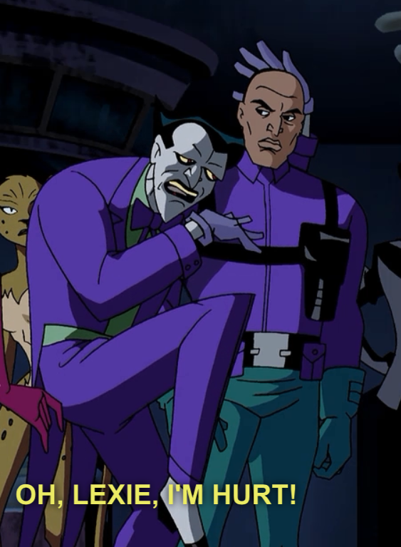 brothasoul:  joker and lex in a nutshell