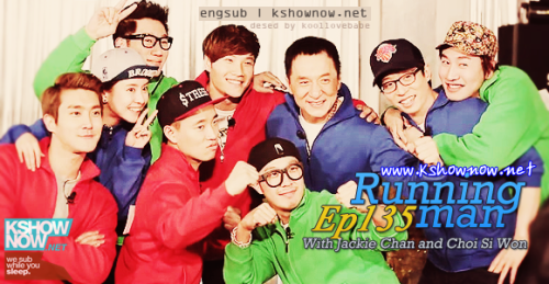 Running Man with Jackie Chan!