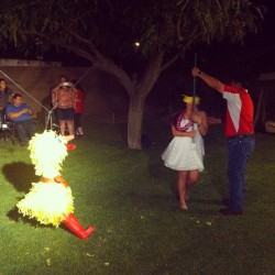 The proper way to celebrate graduating from college? A #Piñata of course! #brraaap!