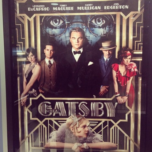 Movie Theater Night @GatsbyMovie #cinema #mtl #gatsby #dicaprio #like #follow #movie #night #montreal #montrealin #3D