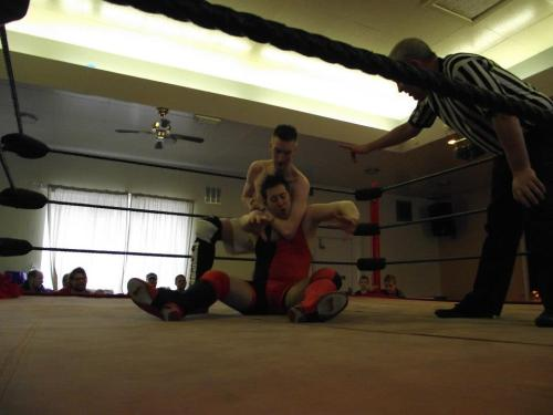"BWA @ Wibsey Working Mens Club 12/05/13 ""The Awesome One"" Chris Taylor Vs Matt Marsay"