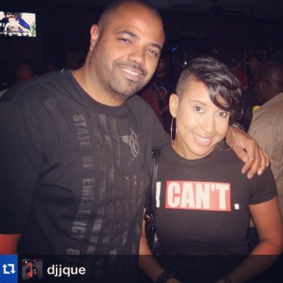 #Repost from @djjque - chillin with the Pimperelli at Luda's listening party