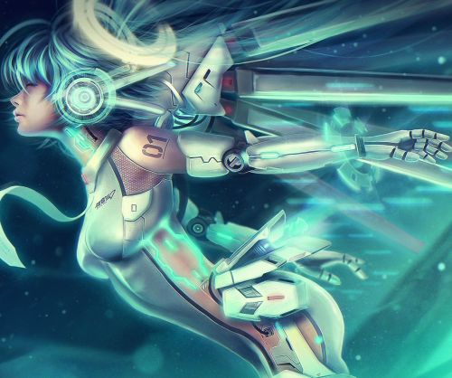 VOCALOID UNIT 01: Ascension Miku by =Eddy-Shinjuku  Download ImageJPG, 2400×1350