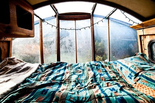 Bohemian Homes: Bedroom view :)