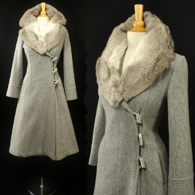 Military-Inspired Princess Coat | eBay Auction | 1960s