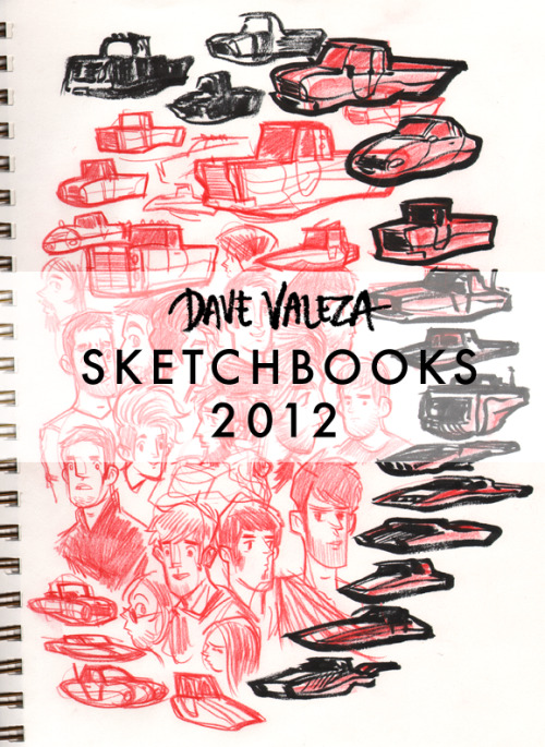 I've collected drawings from my various 2012 sketchbooks into one PDF, DFV 2012. 110+ pages!Buy it here on Gumroad - it's just a dollar, or pay more if you want!