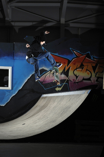 Joe Hill - Tre Flip by Dalesham on Flickr.