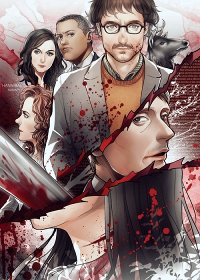 tattle-crime:  Hannibal by *kanapy-art