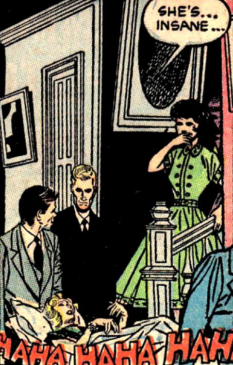 superdames:  —Ghost Comics #11 (1954)   …as if that's a bad thing.