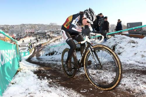Superprestige Hoogstraten 2013: Sanne Cant Was Superior In The Muddy Snow, Photos | Cyclingnews.com