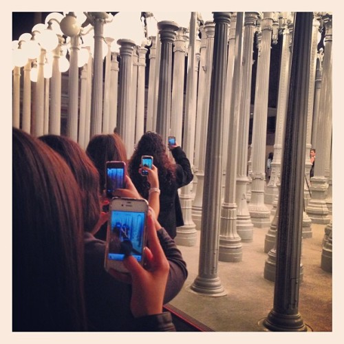 stillajonasfan:  #insteption #lacma #lights @foreverteresaruiz @gabriellaelle @sammyis1dful @celine_barrera thanks for the idea @adamjosephj @kyle187 :D