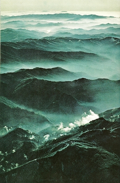 vintagenatgeographic:  Great Smoky Mountains National Geographic | October 1968