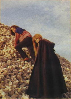 infancys-lie:  James Douglas Morrison and Pamela Susan Courson, 1971, France
