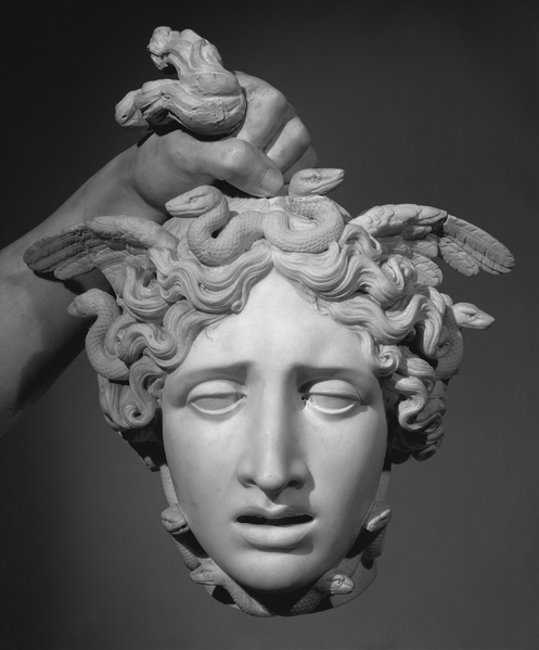 weslah:  Perseus with the Head of Medusa by Antonio Canova (detail)