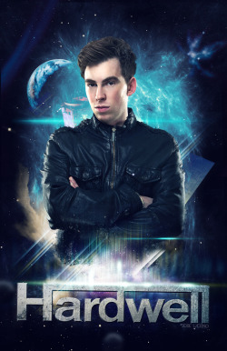 Hardwell poster by jose ladino ( www.joseladinomd.tk ) inspired by Apollo track