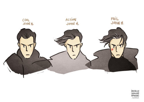 thescienceofobsession:  ireallyshouldbedrawing:  The thematic hair of the enigmatic John Harrison. Let me know if I missed a category.  Brilliant