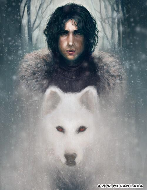 crazyforcatscomicsandchubbygirls:  John Snow or Neil Gaiman? Either way, fricking awesome!
