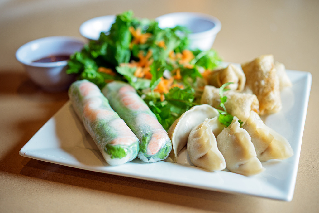 gastronomyfiles:  Appetizer Platter - Hong Long Vietnamese Restaurant (by Michael Shum)