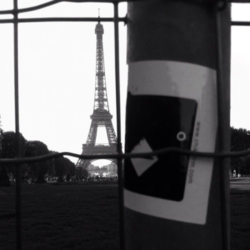 Classic #chickenfarm at Parc du Champ-de-Mars, Paris, France - 2009 #sticker #gochickenfarm #slap #stick it #park #champdemars #chickeninparis #paris #france #igworld