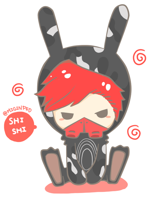 miginped:  [old work] shishimato : matoki boy collection