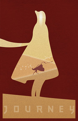 geeksngamers:  Journey Poster - Created by Christian Gushue