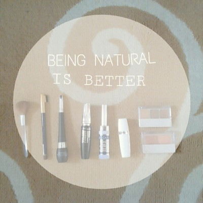 Natural is better #natural #stuff #make #up #instaphoto