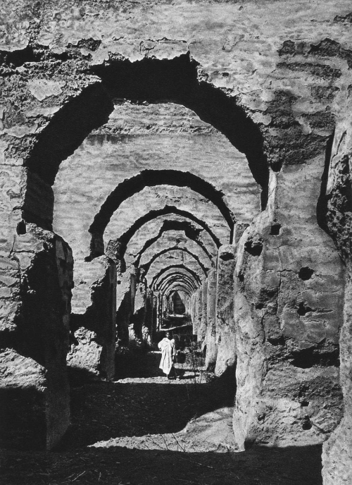 The ruins of the Haras, Meknes, Morocco, 1924