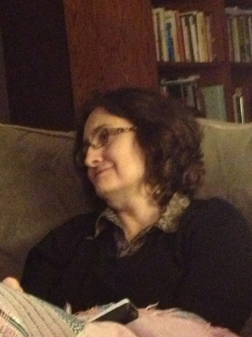 My moms face while watching the Big Bang Theory
