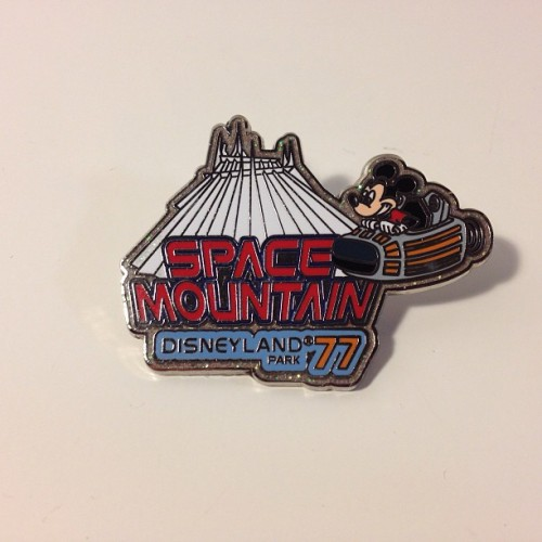 The very first gift @gregfagan ever got me - a #spacemountain pin from his trip to #Disneyland between our second and third dates. Knew he was a keeper right then :) #tbt #throwbackthursday #boyfriend #disney