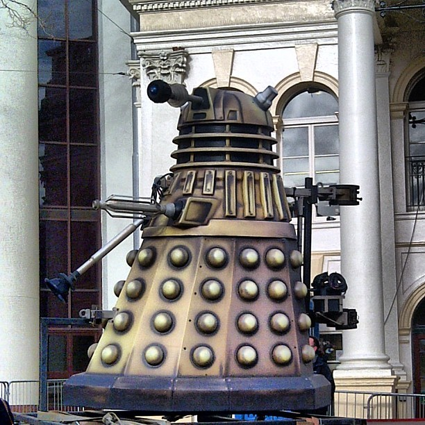 When the Daleks arrived in Nottingham.