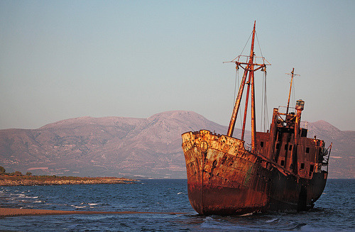 Shipwreck, Greece