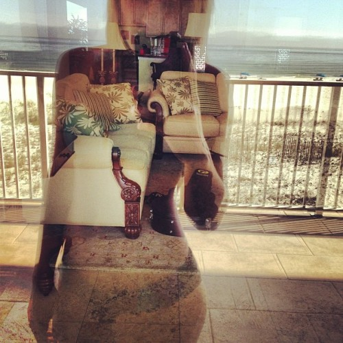 Woah. Reflection in the glass. #Artsy #FloraBama #BeachReady