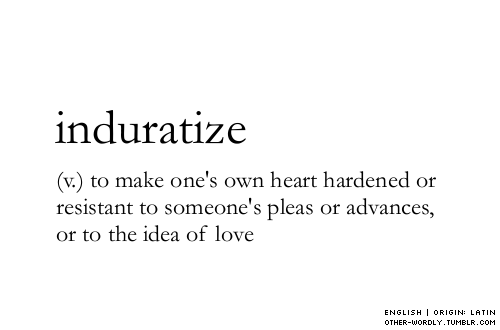 paulettasofia:  other-wordly:  pronunciation | in-'dur-a-tIz  I need a dose of this