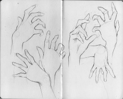 fuckyeahmoleskines:  hand studies more art here