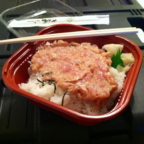 I can seriously eat spicy ahi everyday and never get tired of it🍣