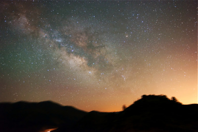 nicleister:  The Milky Way east of Phoenix, Arizona