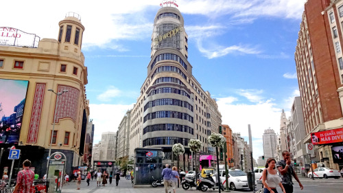 """""""Callao"""" We don't have Times Square, but in Madrid we have Callao which is kind of the same thing.Or maybe not. Thou shall not compare. (Madrid, Spain, 2014)"""