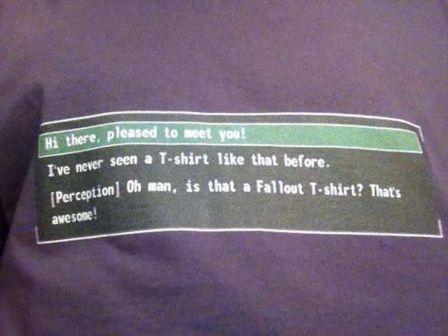 foxdear:  pumpkinradish:  foxdear:  How to spot a nerd: See if they're wearing this, then take their lunch money  I think you meant, then see if they want to have an in-depth conversation a